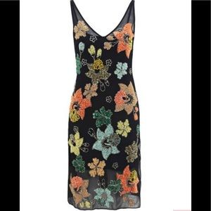 Needle&thread botanical midi dress S